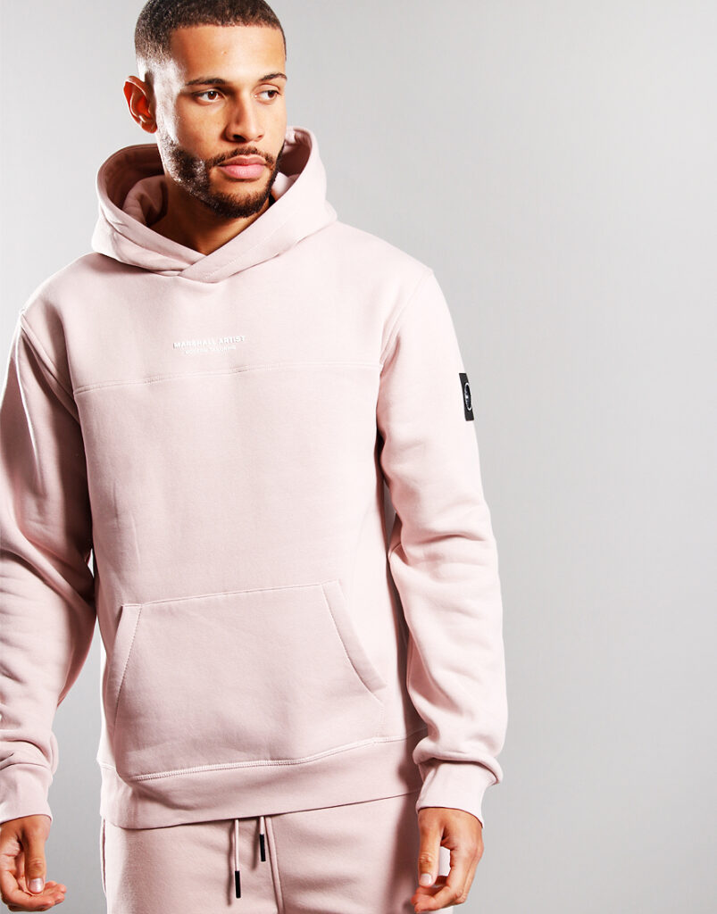 Siren Over The Head Hoodie | Rose Gold