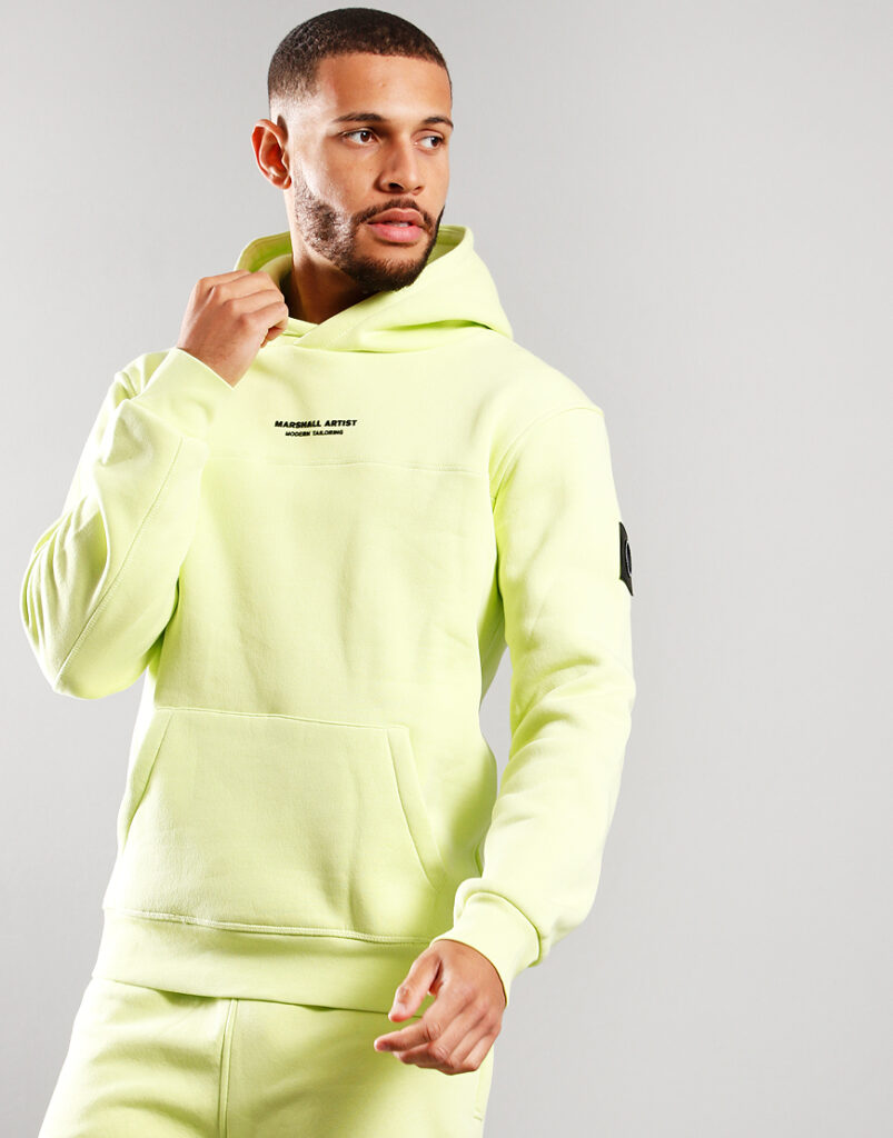 Siren Over The Head Hoodie | Faded Lime