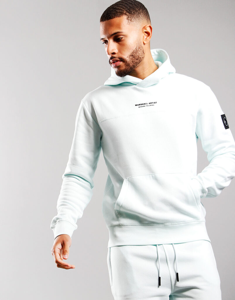 Siren Over The Head Hoodie | Faded Mint